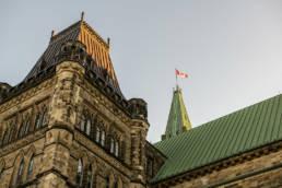 Parliament Hill at Ottawa