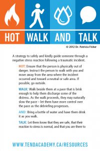 Hot, Walk and Talk